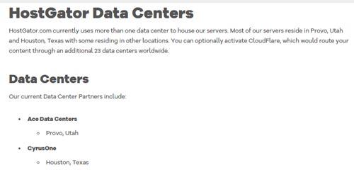 Hostgator recesione datacenters