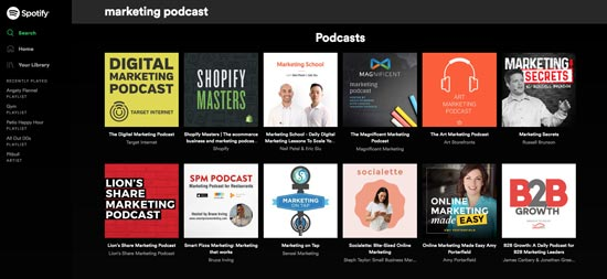 podcast hosting spotify